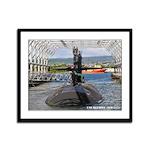USS OLYMPIA Framed Panel Print