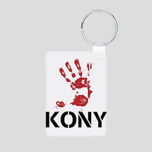 STOP KONY 2012 Aluminum Photo Keychain