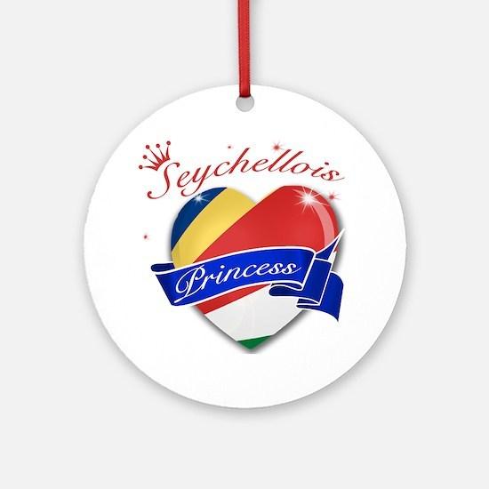 Seychellois Princess Ornament (Round)