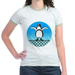 Penguin1 Jr. Ringer T-Shirt