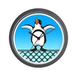 Penguin1 Wall Clock