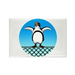 Penguin1 Rectangle Magnet (100 pack)