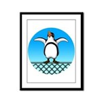 Penguin1 Framed Panel Print