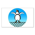 Penguin1 Sticker (Rectangle 50 pk)