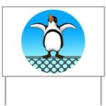 Penguin1 Yard Sign
