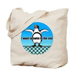Penguin2 Tote Bag
