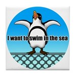 Penguin2 Tile Coaster