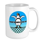 Penguin2 Large Mug