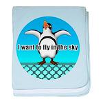 Penguin3 baby blanket