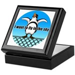 Penguin3 Keepsake Box