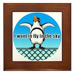 Penguin3 Framed Tile