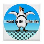 Penguin3 Tile Coaster