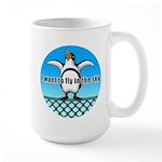 Penguin3 Large Mug