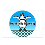 Penguin3 Postcards (Package of 8)