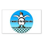 Penguin3 Sticker (Rectangle 10 pk)