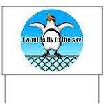 Penguin3 Yard Sign