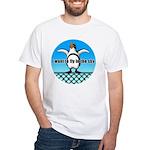 Penguin3 White T-Shirt