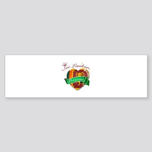 Sri Lankan Princess Sticker (Bumper)