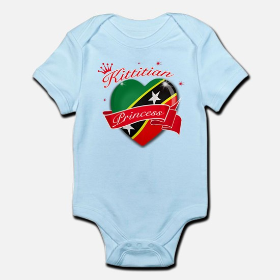 Kittitians Princess Infant Bodysuit