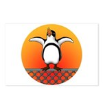 Penguin4 Postcards (Package of 8)