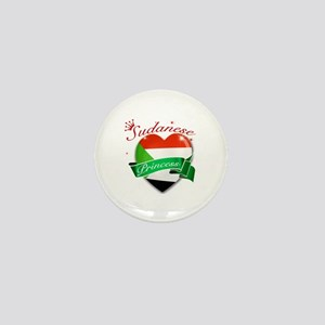 Sudanese Princess Mini Button