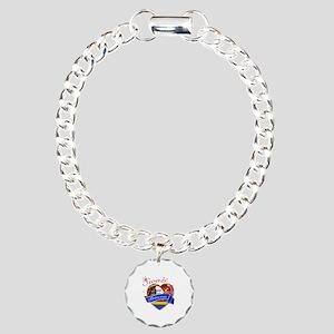 Swazi Princess Charm Bracelet, One Charm