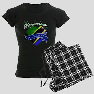 Tanzanian Princess Women's Dark Pajamas