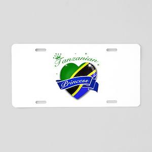 Tanzanian Princess Aluminum License Plate