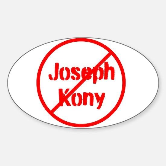 Stop Joseph Kony Sticker (Oval)