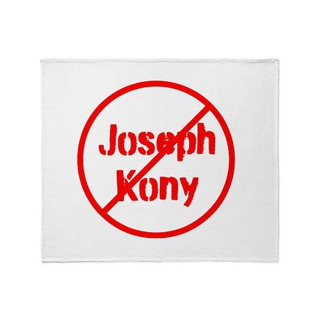 Stop Joseph Kony Throw Blanket
