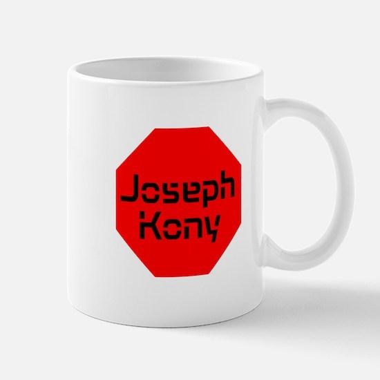 Stop Sign Joseph Kony Mug
