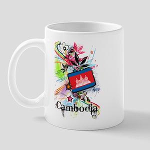 Flower Cambodia Mug