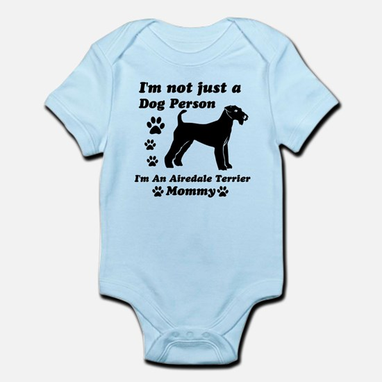 Airedale Terrier Mommy Infant Bodysuit
