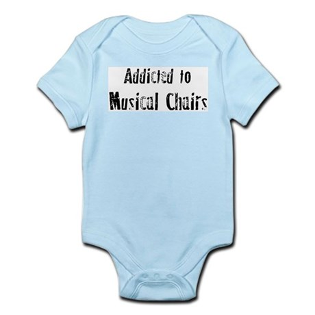 Addicted to Musical Chairs Infant Creeper