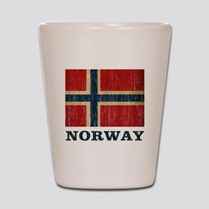 Vintage Norway Shot Glass