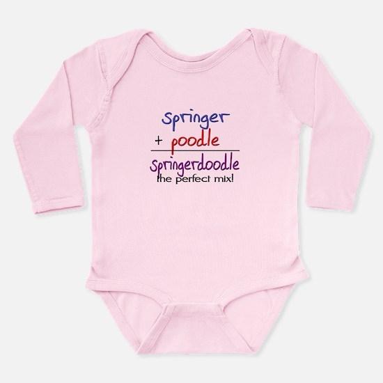 Springerdoodle PERFECT MIX Long Sleeve Infant Body