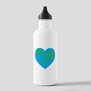 Earth Heart Stainless Water Bottle 1.0L