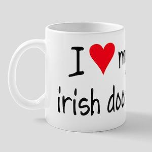 I LOVE MY Irish Doodle Mug