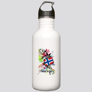 Flower Norway Stainless Water Bottle 1.0L