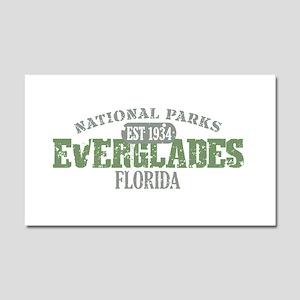 Everglades National Park FL Car Magnet 20 x 12