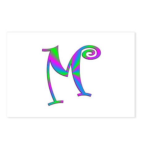 M Monogram Postcards (Package of 8)