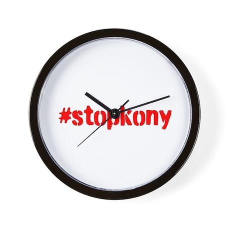 #stopkony Wall Clock