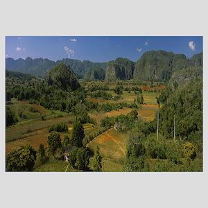 High angle view of a landscape, Valle De Vinales,