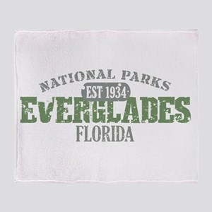 Everglades National Park FL Throw Blanket