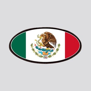 Mexican Flag Patches