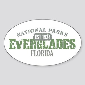 Everglades National Park FL Sticker (Oval)