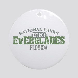 Everglades National Park FL Ornament (Round)