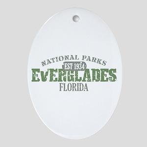 Everglades National Park FL Ornament (Oval)