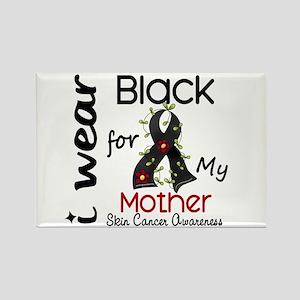 I Wear Black 43 Skin Cancer Rectangle Magnet