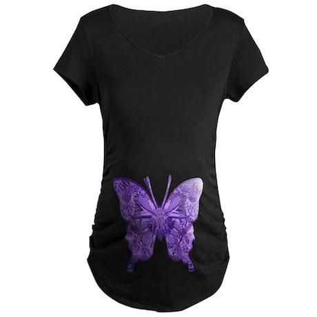 Blu Bottega Maternity Dark T-Shirt